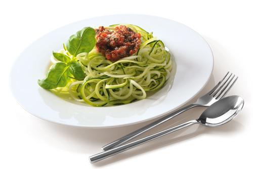 Rohkost Gemuese Spaghetti