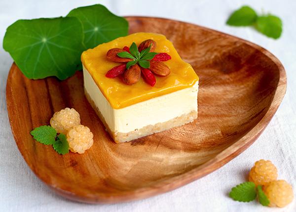 Mango-Cheescake