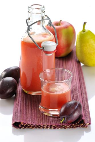 Apfel-Birne-Pflaumen-Saft