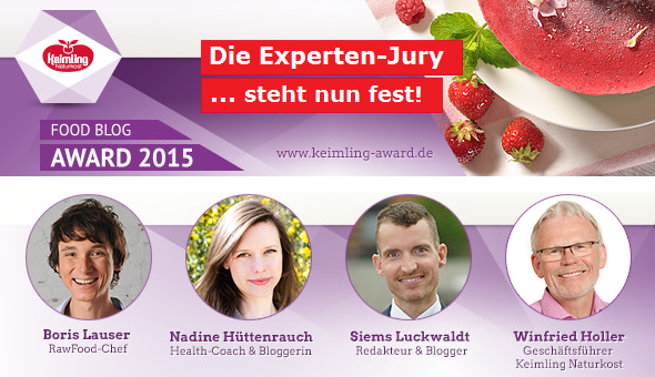 Jury des Food Blog Awards 2015
