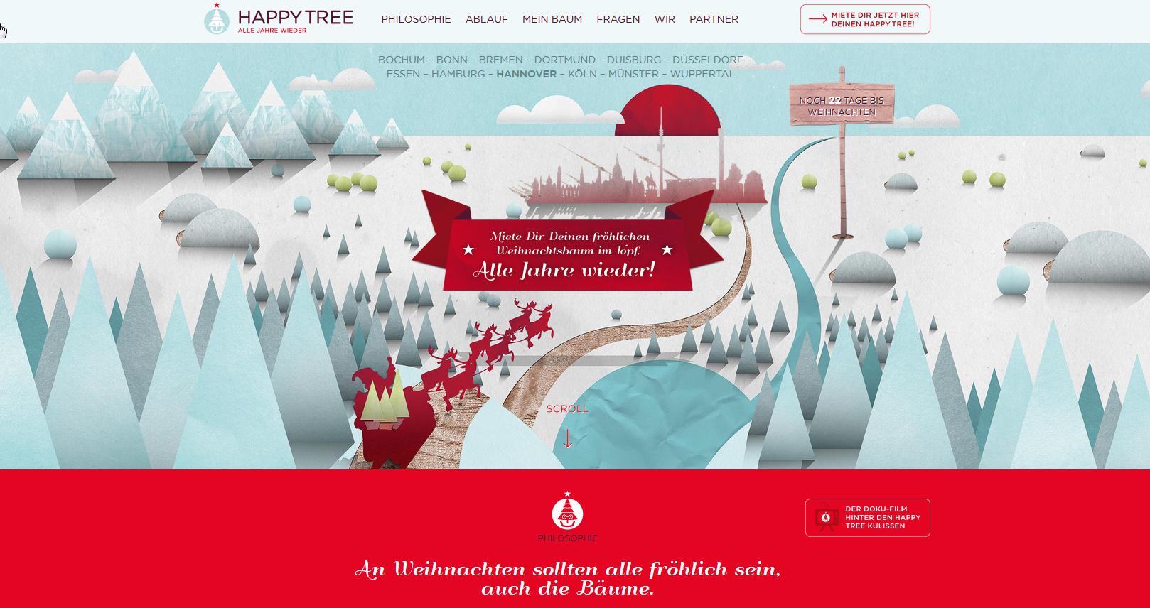 Happy Tree Website