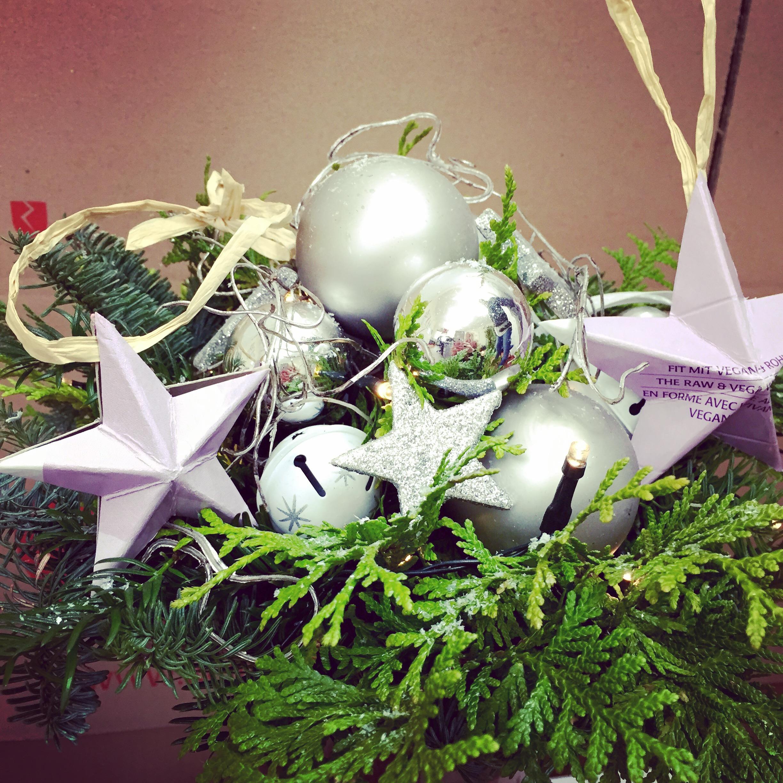 Weihnachtssterne für den Tannenbaum
