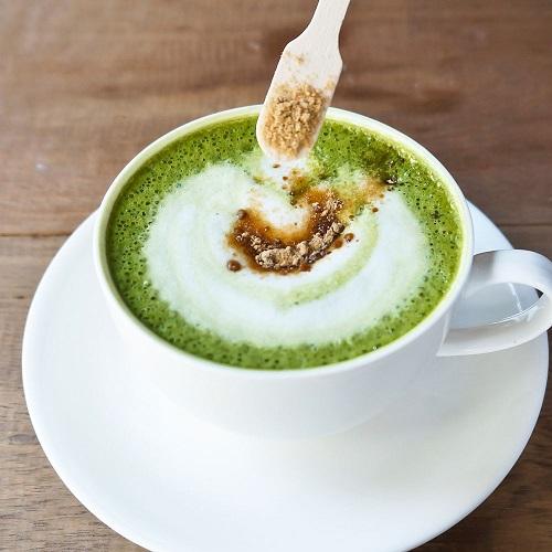matcha-latte-rezept