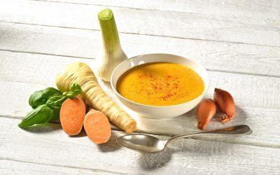 Süßkartoffel-Pastinaken Suppe