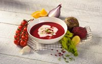 Rohkost Rote-Bete-Suppe