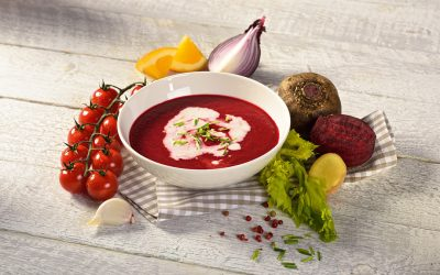 Samtige Rote-Beete-Suppe