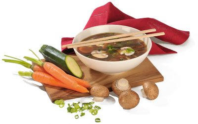 Rohkost Miso Suppe