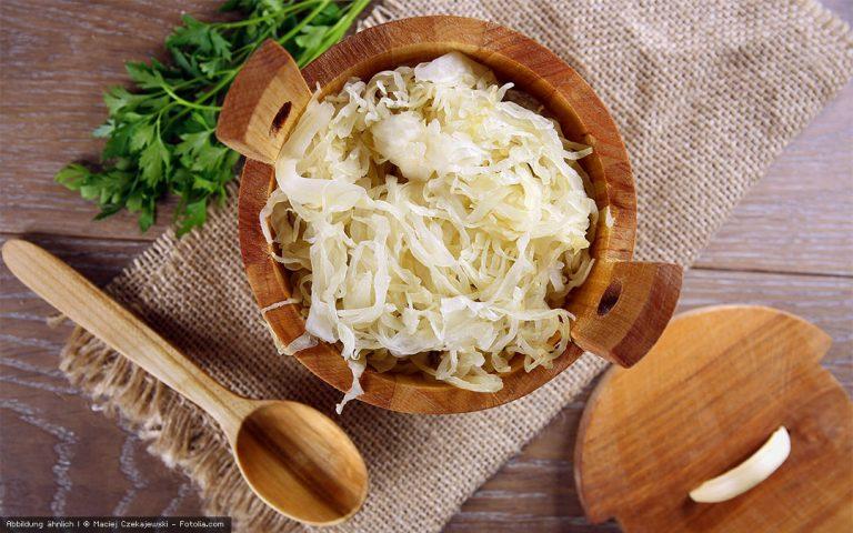 Rohkost Sauerkraut selbstgemacht