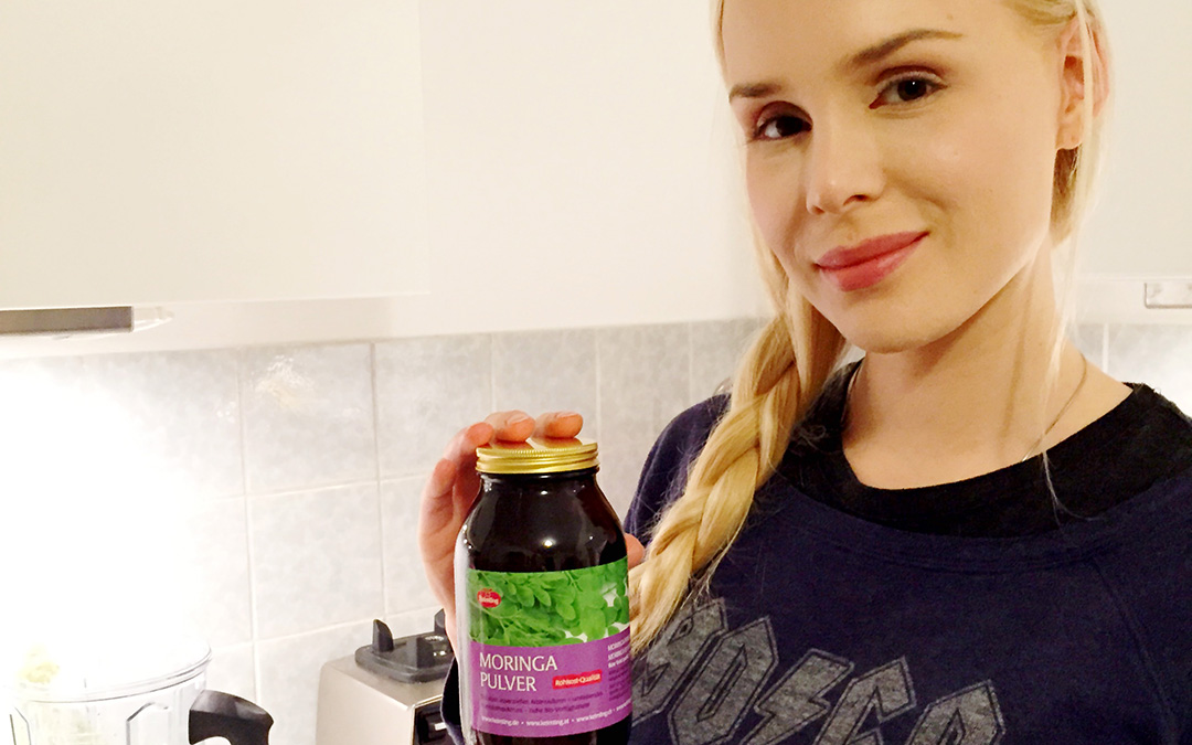 Frühjahrs-Tipp von Ariane Sommer: Detox mit Keimling Moringa-Pulver