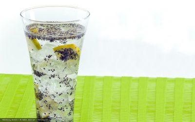 Trendgetränk für heiße Tage: Chia-Sommer-Drink von Patrick Bolk