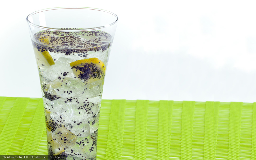 Chia-Sommer-Drink