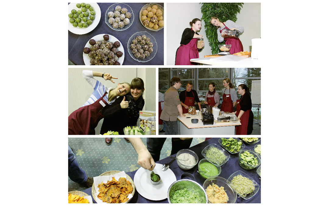 Rohkost Trends 2016 – Foodies zu Besuch im Kurs Smart & Easy