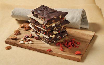 Handgefertigte Bruchschokolade
