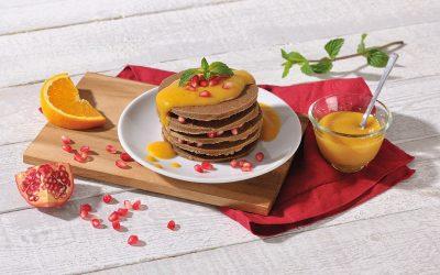 Pancakes mit Orangen-Soße
