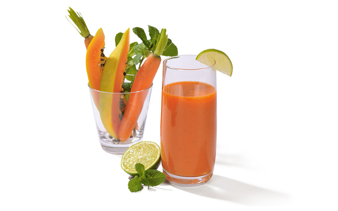 Papaya Karotten Saft