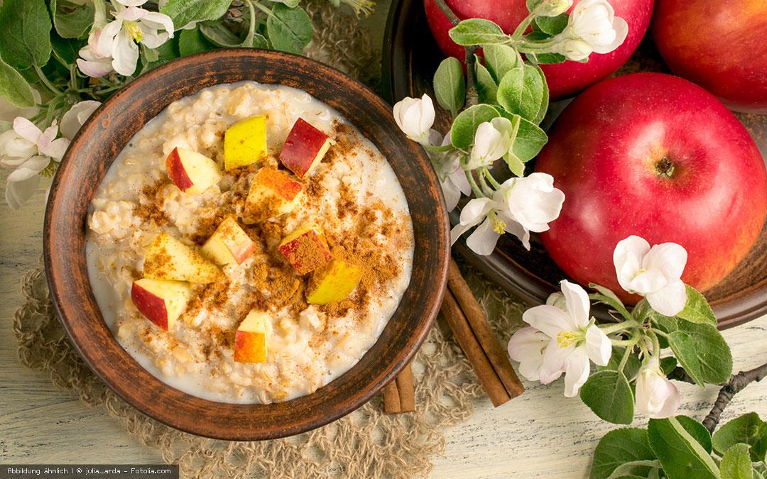 Glutenfreier Frischkornbrei mit dem Vitamix Pro 750