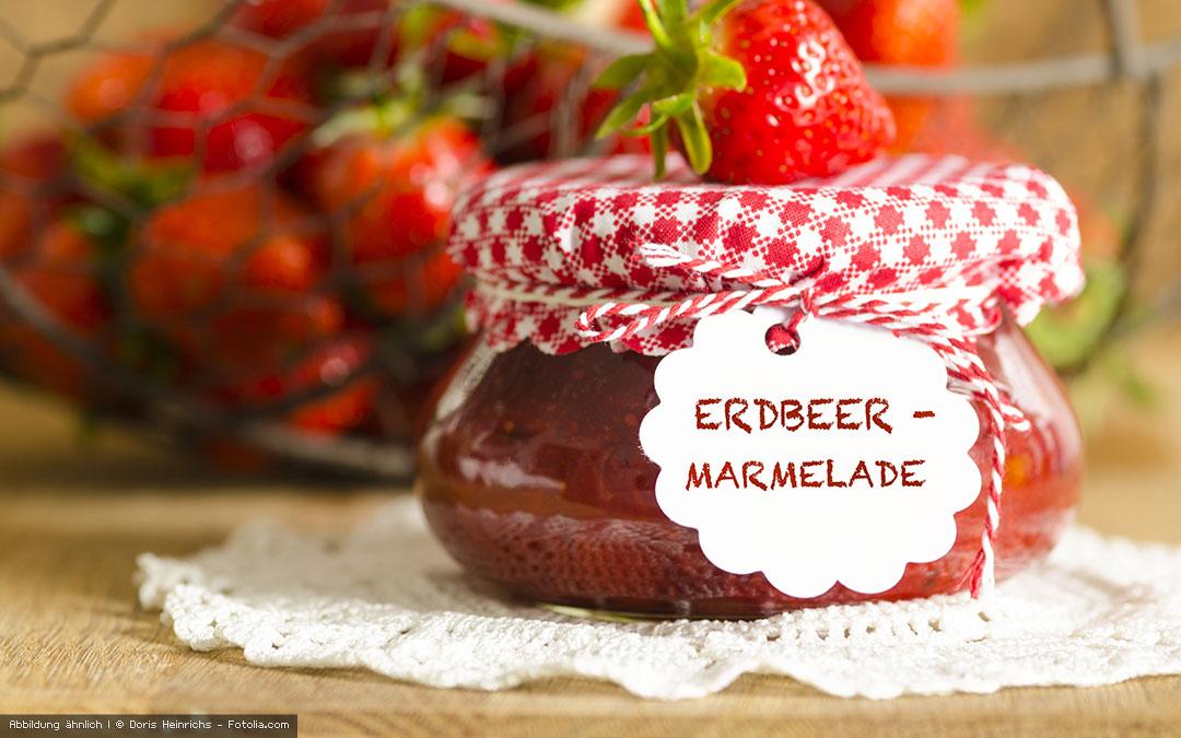 Erdbeermarmelade mit dem Personal Blender