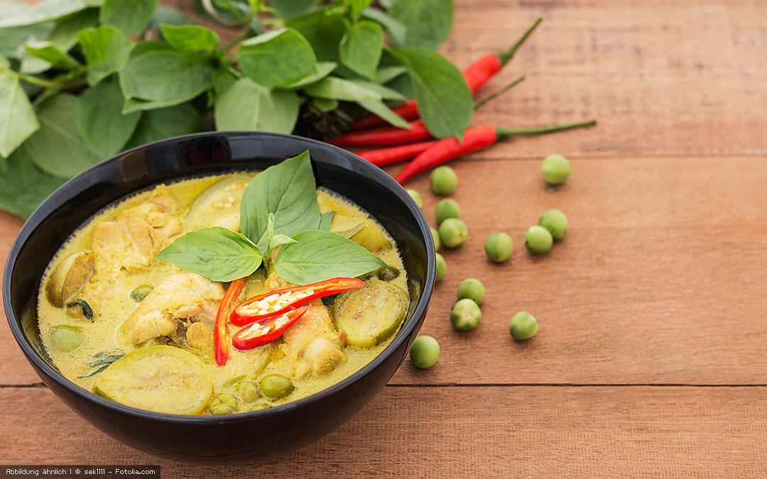 Soyabella Rezept – vegane Curry Gemüse Suppe