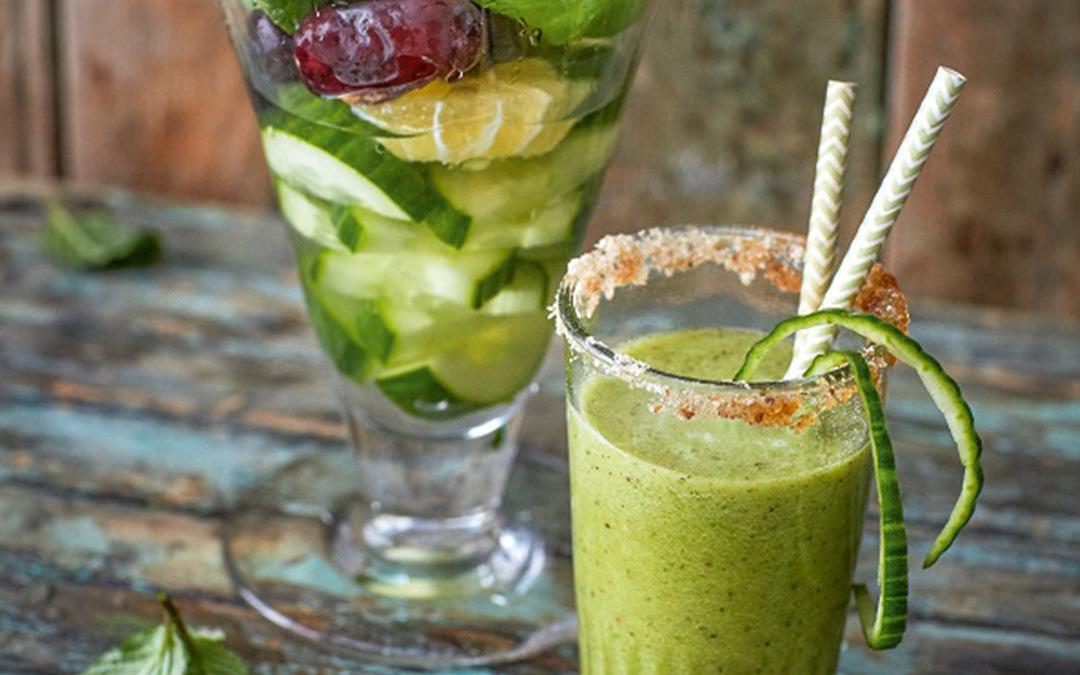 Gurken cooler mit basilikum ein rezept von kochprofi for Datteln deko