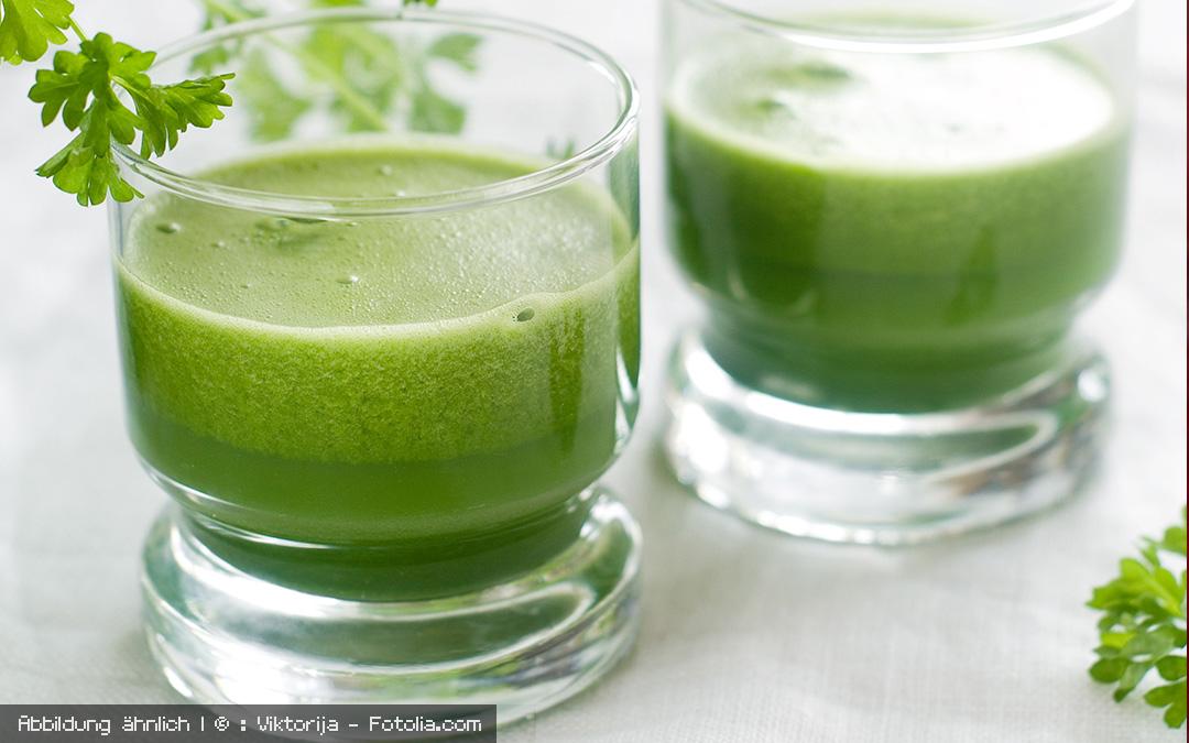 Grüner Gemüse-Saft