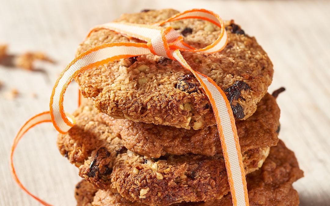 Kekse gehen immer – so auch die Dattel-Macadamiakekese
