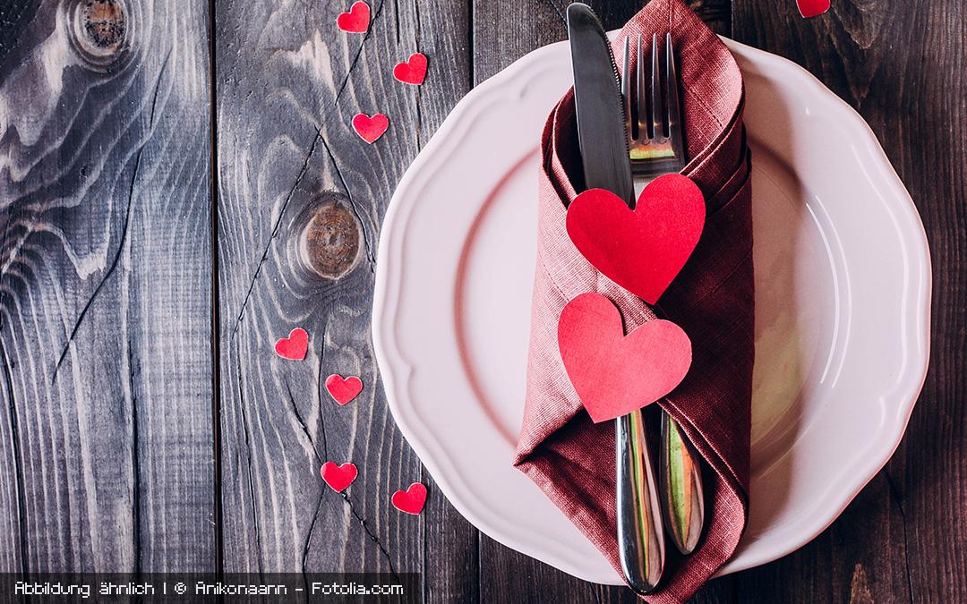 Dinner for two mit ganz viel Liebe