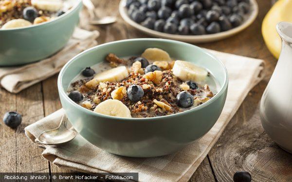 Knuspriges Frühstücksmüsli für eine extra Portion gute Laune am Morgen