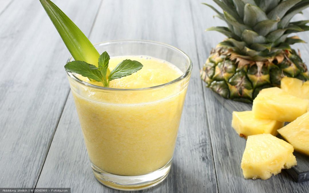 Ananas-Smoothie