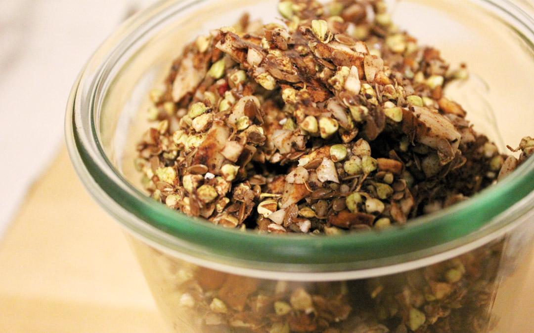 Buchweizen Granola easy selbstgemacht