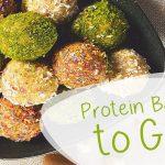 Protein Balls to Go Sportler Spezial vegane Snacks