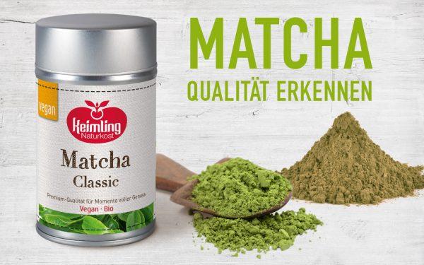 Matcha Grünteepulver – Gute Qualität erkennen