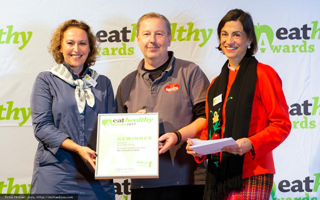 Frisch-Leinöl gewinnt Eathealthy-Award