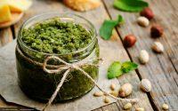 Rezept Haselnuss-Pesto mit Basilikum