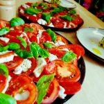 Cashew Mozzarella Caprese
