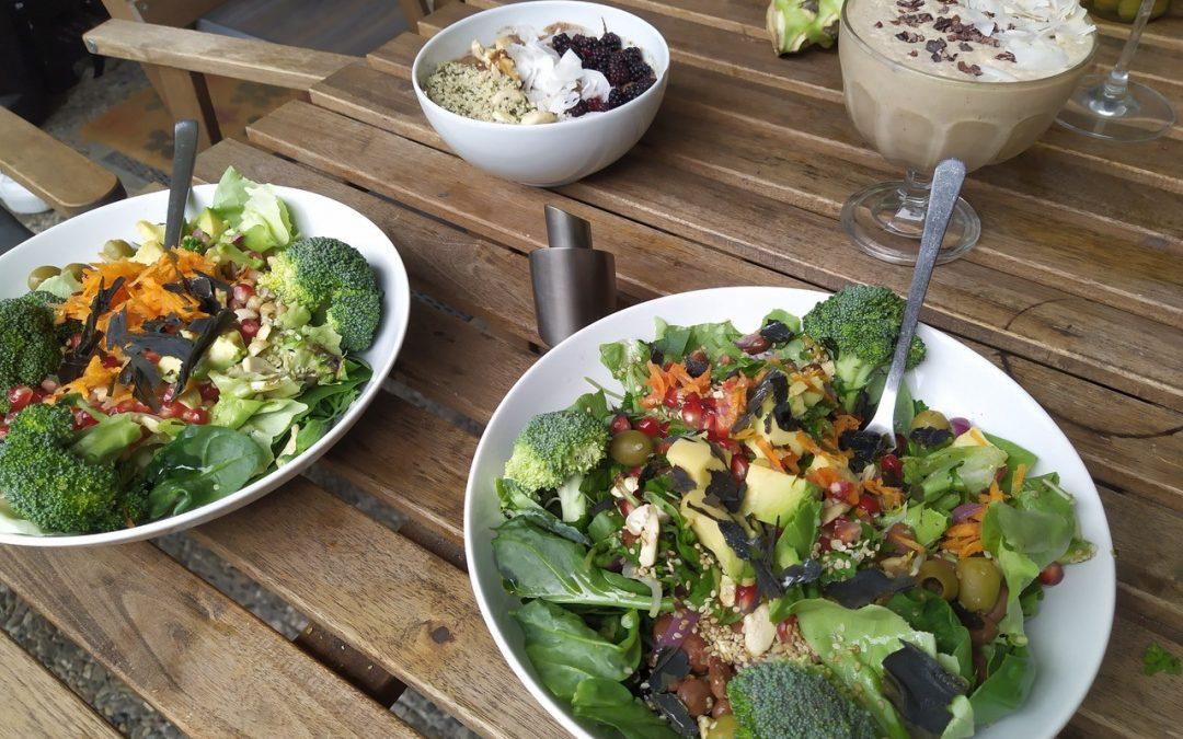 Protein Powersalat mit Sprossen und Keimlingen von Christian Wenzel alias mr.broccoli