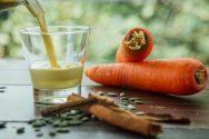 Haselnuss Karotten Milch