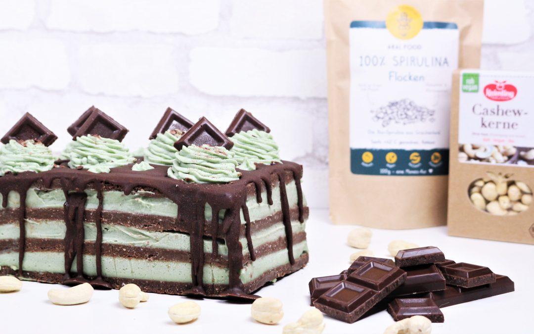 Minz Schoko Creme Kuchen von Angela Griem