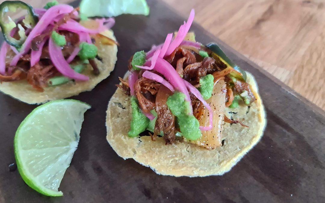 Tacos al Hongo Pibil von Boris Lauser
